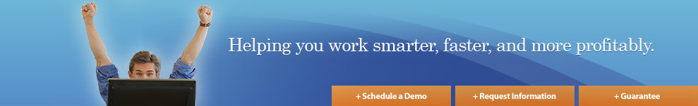 Helping you work smarter, faster, and more profitably.